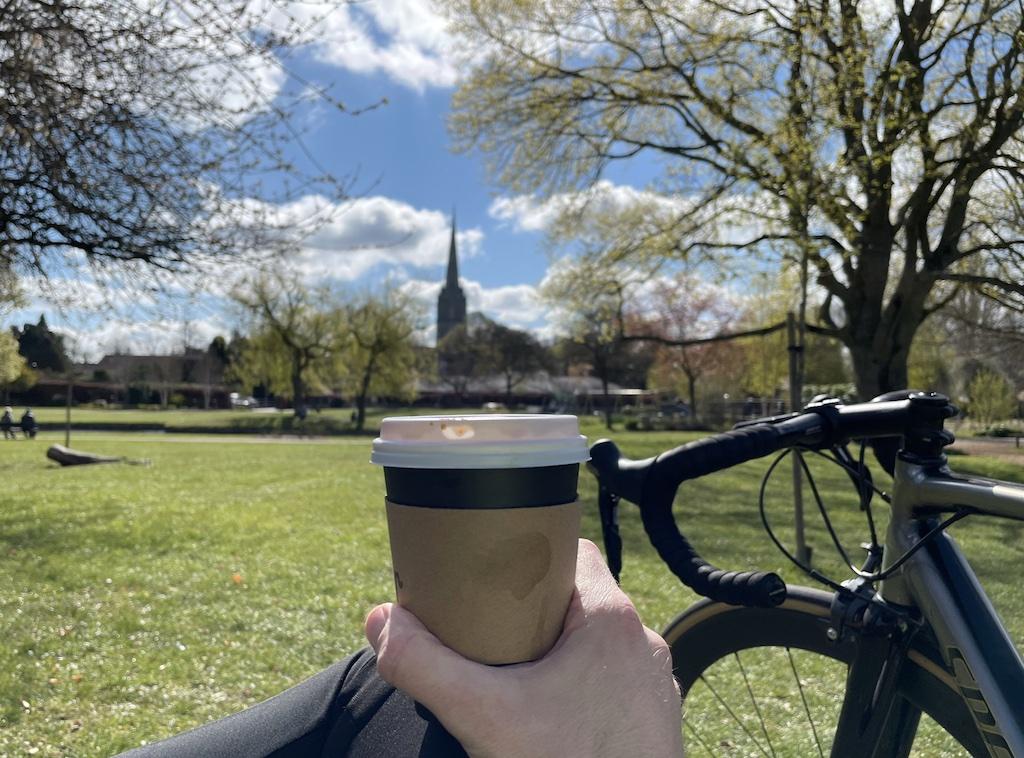 Coffee and my bike
